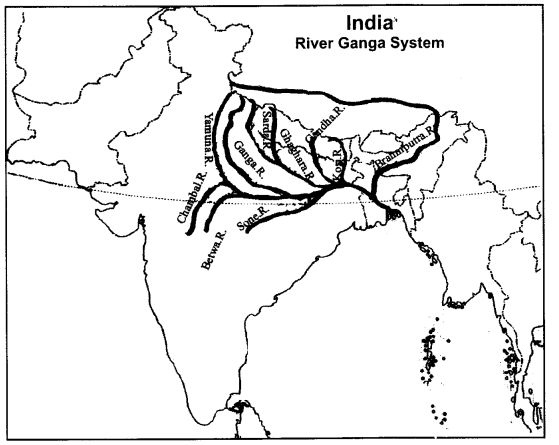RBSE Solutions for Class 9 Social Science Chapter 13 Rivers and Lakes of India 1