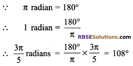 RBSE Solutions for Class 9 Maths Chapter 13 Angles and their Measurement