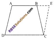 RBSE Solutions for Class 9 Maths Chapter 9 Quadrilaterals Ex 9.1