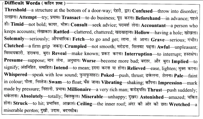 Rajasthan Board Solutions for Class 8 English Chapter 11 My First Visit to Bank 1