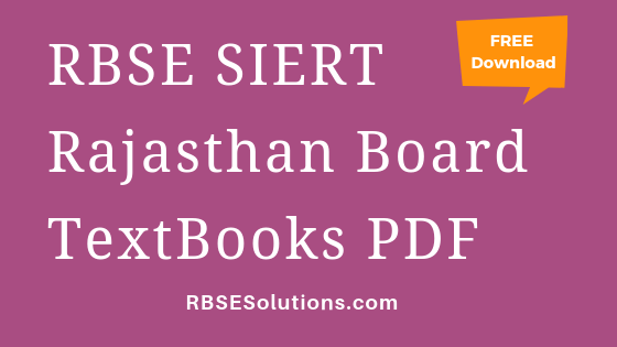 RBSE Rajasthan Board Books PDF Free Download in Hindi