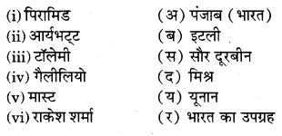 RBSE Solutions for Class 6 Social Science Chapter 3 अंतरिक्ष खोज 1