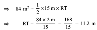 RBSE Solutions for Class 9 Maths Chapter 11 Area of Plane Figures Additional Questions - 25