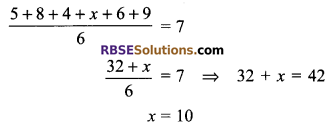 RBSE Solutions for Class 9 Maths Chapter 15 Statistics Miscellaneous Exercise