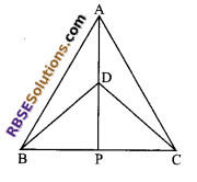 RBSE Solutions for Class 9 Maths Chapter 7 Congruence and Inequalities of Triangles Ex 7.3