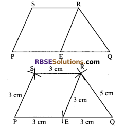 RBSE Solutions for Class 9 Maths Chapter 9 Quadrilaterals Ex 9.5