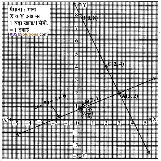 Rajasthan Board RBSE Class 10 Maths Chapter 4 दो चरों वाले रैखिक समीकरण एवं असमिकाएँ Ex 4.1 11