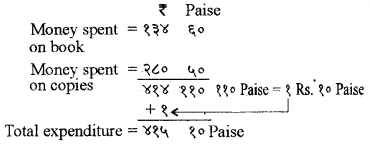 RBSE Solutions for Class 5 Maths Chapter 10 Currency Additional Questions image 6
