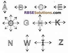 RBSE Solutions for Class 6 Maths Chapter 11 Symmetry Ex 11.1 image 2