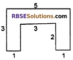 RBSE Solutions for Class 6 Maths Chapter 14 Perimeter and Area Additional Questions image 4