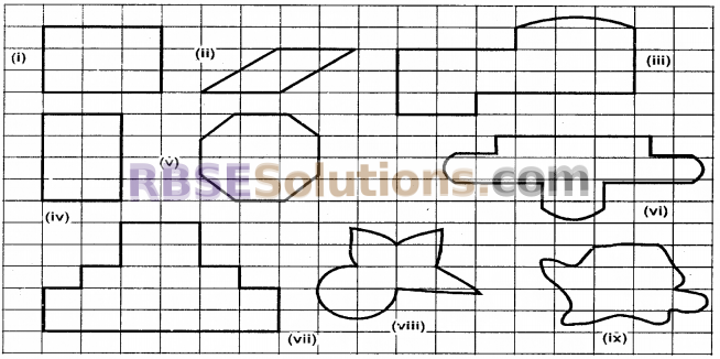 RBSE Solutions for Class 6 Maths Chapter 14 Perimeter and Area Ex 14.2 image 1
