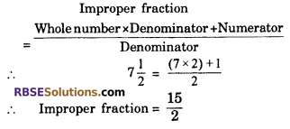 RBSE Solutions for Class 6 Maths Chapter 5 FractionsAdditional Questions image 1