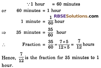 RBSE Solutions for Class 6 Maths Chapter 5 Fractions Ex 5.1 image 3