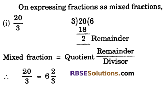 RBSE Solutions for Class 6 Maths Chapter 5 Fractions Ex 5.1 image 7