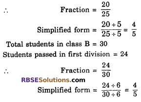 RBSE Solutions for Class 6 Maths Chapter 5 FractionsEx 5.3 image 11