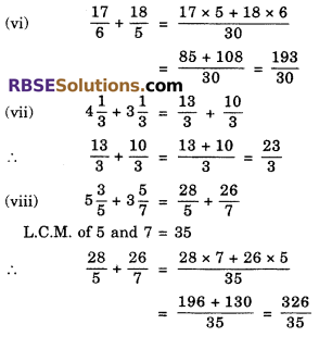 RBSE Solutions for Class 6 Maths Chapter 5 Fractions Ex 5.4 image 3
