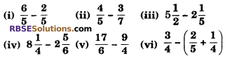 RBSE Solutions for Class 6 Maths Chapter 5 FractionsEx 5.5 image 1