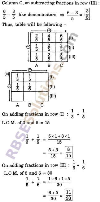 RBSE Solutions for Class 6 Maths Chapter 5 FractionsEx 5.5 image 7