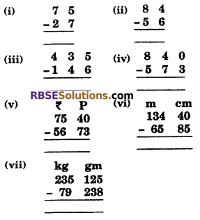 RBSE Solutions for Class 6 Maths Chapter 7 Vedic Mathematics Ex 7.2 image 1
