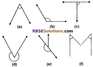 RBSE Solutions for Class 6 Maths Chapter 8 Basic Geometrical Concepts and Shapes Additional Questions image 1
