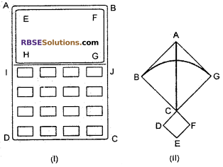 RBSE Solutions for Class 6 Maths Chapter 9 Simple Two Dimensional Shapes Ex 9.3 image 1