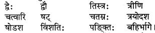 RBSE Solutions for Class 6 Sanskrit Chapter 10 संख्याज्ञानम् 1