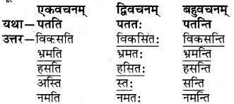 RBSE Solutions for Class 6 Sanskrit Chapter 4 अकारान्त-नपुंसकलिङ्गशब्दप्रयोगः 6
