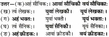 RBSE Solutions for Class 6 Sanskrit Chapter 6 सर्वनाम-शब्दप्रयोगः (अस्मद्-युष्मद्) 2