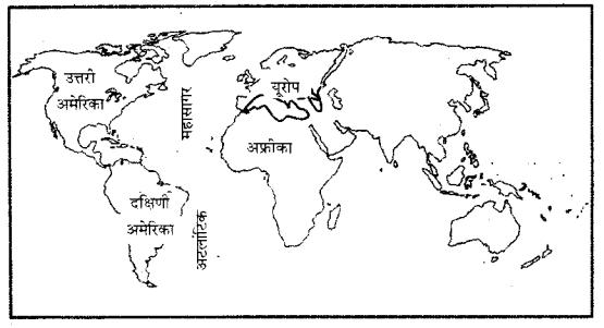 RBSE Solutions for Class 6 Social Science Chapter 6 महाद्वीप और महासागर 3
