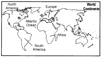 RBSE Solutions for Class 6 Social Science Chapter 6 Continents and Oceans 3