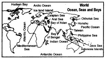 RBSE Solutions for Class 6 Social Science Chapter 6 Continents and Oceans 4