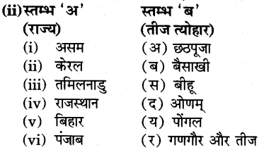 RBSE Solutions for Class 6 Social Science Chapter 9 विविधता में एकता 9