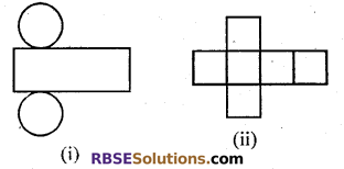 RBSE Solutions for Class 7 Maths Chapter 12 Visualizing Solid Shapes Ex 12.1 - 1