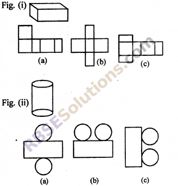 RBSE Solutions for Class 7 Maths Chapter 12 Visualizing Solid Shapes Ex 12.1 - 4