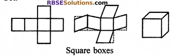 RBSE Solutions for Class 7 Maths Chapter 12 Visualizing Solid Shapes In Text Exercise