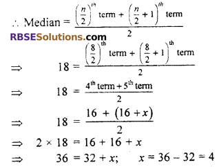 RBSE Solutions for Class 7 Maths Chapter 17 Data Handling In Text Exercise