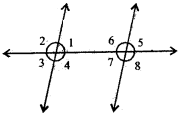 RBSE Solutions for Class 7 Maths Chapter 7 Lines and Angles Ex 7.2 - 1