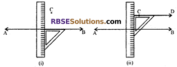 RBSE Solutions for Class 7 Maths Chapter 7 Lines and Angles Ex 7.2