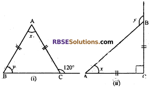RBSE Solutions for Class 7 Maths Chapter 8 Triangle and its Properties Additional Questions