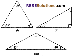 RBSE Solutions for Class 7 Maths Chapter 8 Triangle and its Properties In Text Exercise