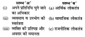 RBSE Solutions for Class 7 Social ScienceChapter 9 लोकतंत्र और समानता 1