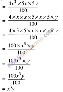 RBSE Solutions for Class 8 Maths Chapter 9 Algebraic ExpressionsEx 9.1 img-1