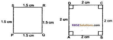 RBSE Solutions for Class 10 Maths Chapter 11 Similarity Ex 11.1 1