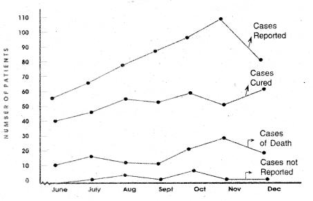 RBSE Class 12 English Article Writing (Visual Input) graph