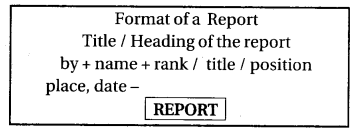 RBSE Class 12 English EnglishReport Writing report
