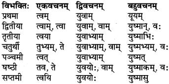 RBSE Class 6 Sanskrit परिशिष्टम् 19