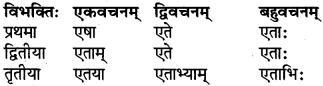 RBSE Class 6 Sanskrit परिशिष्टम् 21