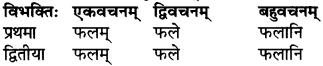 RBSE Class 6 Sanskrit परिशिष्टम् 4