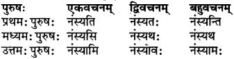 RBSE Class 6 Sanskrit परिशिष्टम् 50