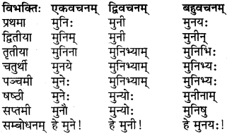 RBSE Class 6 Sanskrit परिशिष्टम् 6